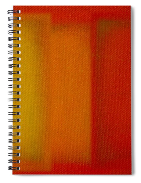 Cadmium Lemon Spiral Notebook
