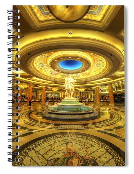Caesar's Grand Lobby Spiral Notebook