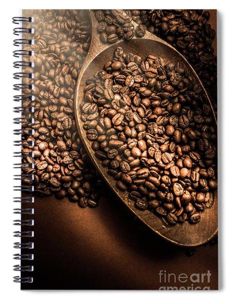 Cafe Aroma Art Spiral Notebook