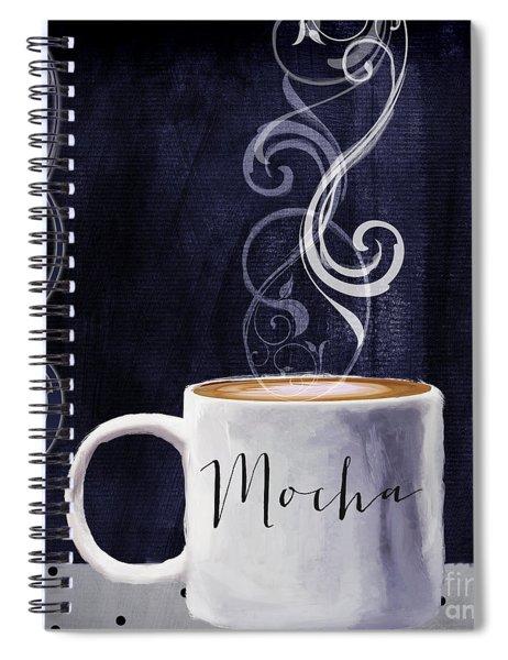Cafe Blue IIi Spiral Notebook