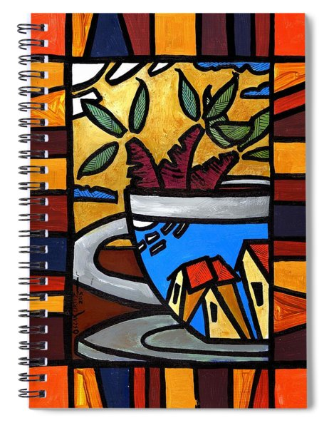Cafe Caribe  Spiral Notebook