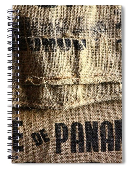 Cafe De Panama Spiral Notebook