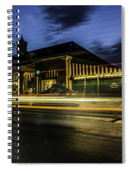 Cafe Du Monde, New Orleans, Louisiana Spiral Notebook