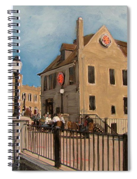 Cafe Hollander 2 Spiral Notebook