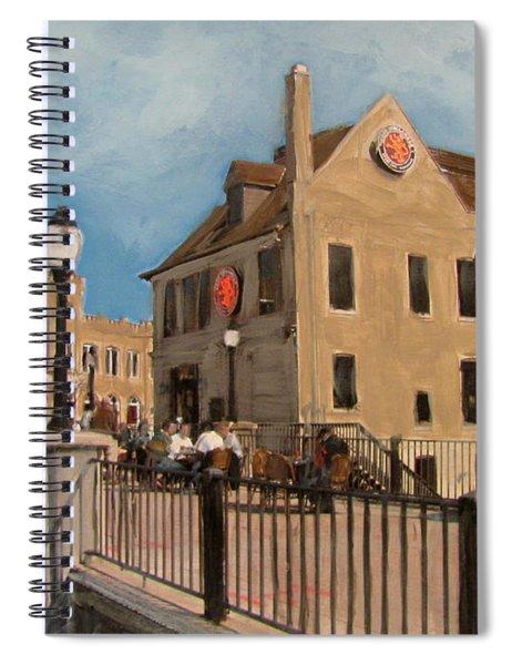 Cafe Hollander 2 Spiral Notebook