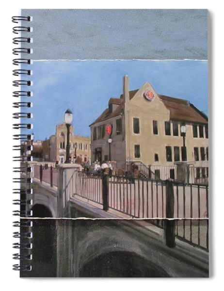 Cafe Hollander 2 Layered Spiral Notebook