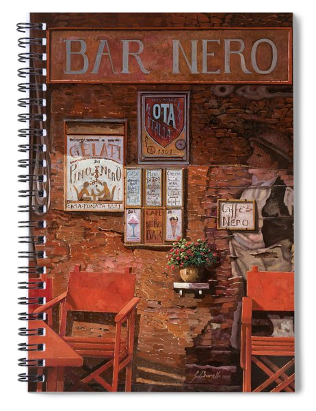 caffe Nero Spiral Notebook
