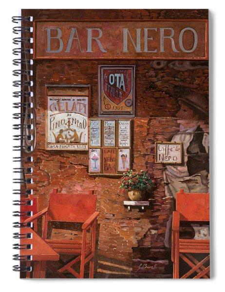caffe Nero Spiral Notebook