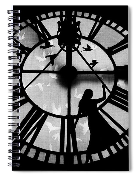 Caged Soul Spiral Notebook