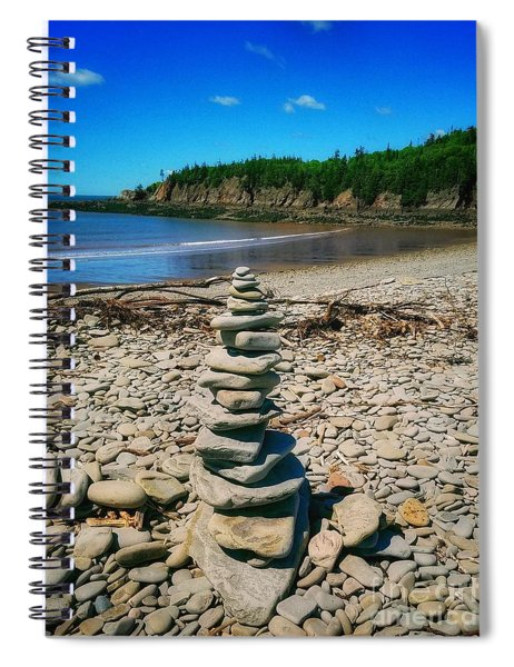Cairn In Eastern Canada Spiral Notebook