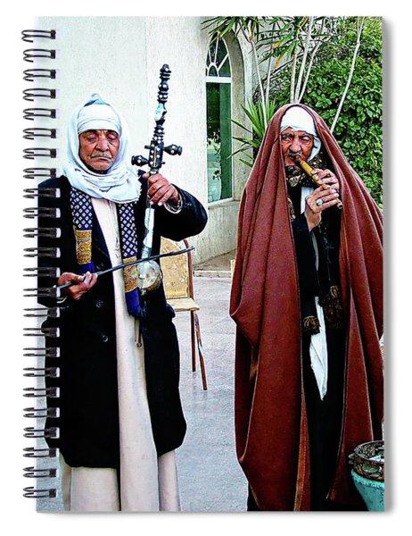 Cairo Musicians - Cairo, Egypt Spiral Notebook