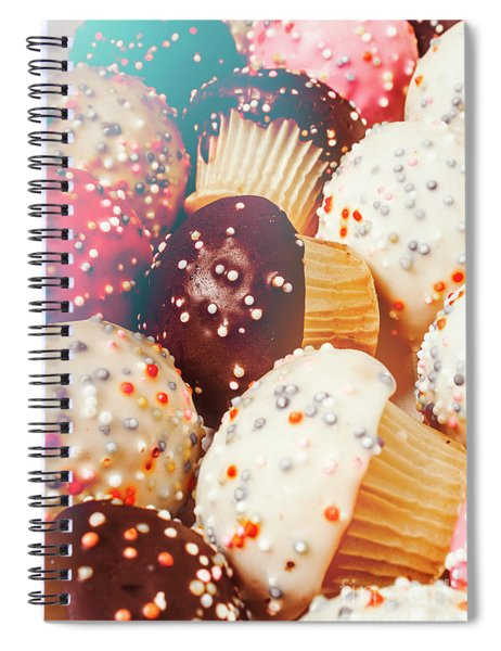 Cakes Of Confection Spiral Notebook