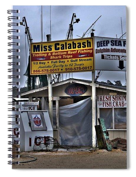 Calabash Bait Shop Spiral Notebook
