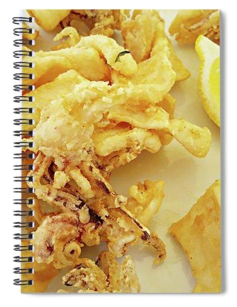 Calamari Fritti Spiral Notebook