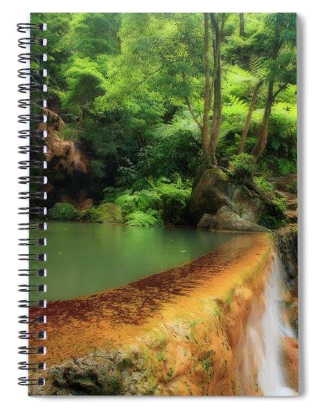 Caldeira Velha - Azores Islands Spiral Notebook