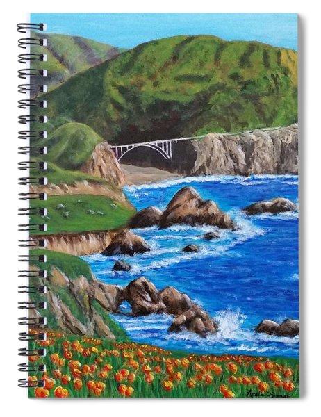 California Coastline Spiral Notebook