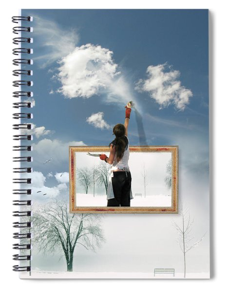 Califonia Dreaming  Spiral Notebook