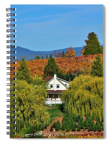 California Apple Hill Spiral Notebook