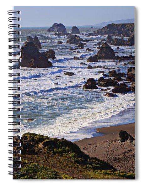 California Coast Sonoma Spiral Notebook