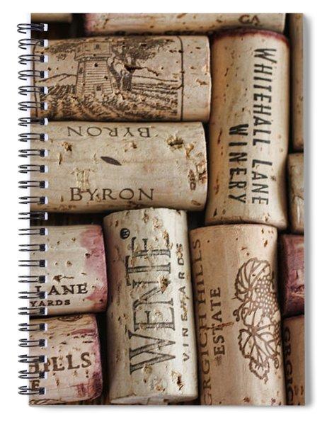 California Corks Spiral Notebook