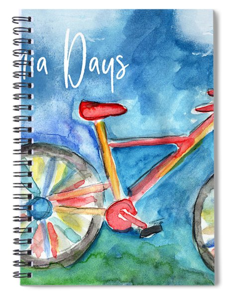 California Days - Art By Linda Woods Spiral Notebook