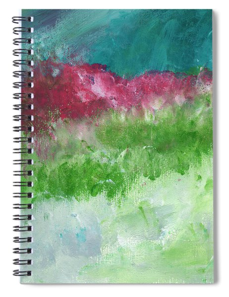 California Landscape- Expressionist Art By Linda Woods Spiral Notebook by Linda Woods