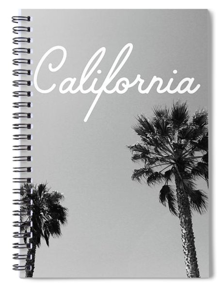 California Palm Trees By Linda Woods Spiral Notebook