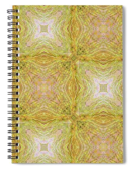 California Spring Oscillation Pattern Spiral Notebook