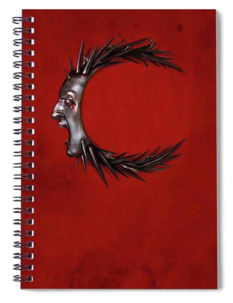 Caligula Spiral Notebook