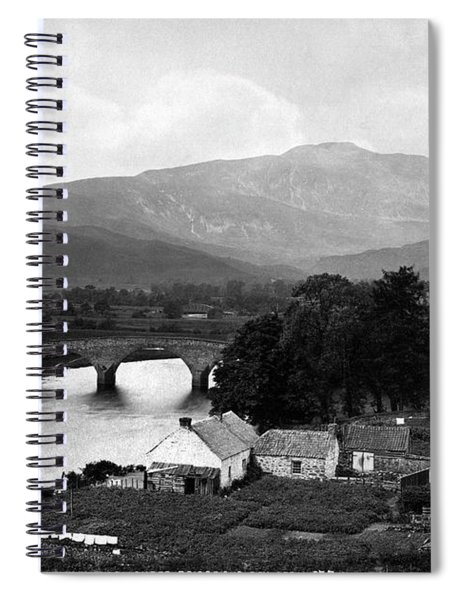Callander Bridge And Ben Ledi Spiral Notebook