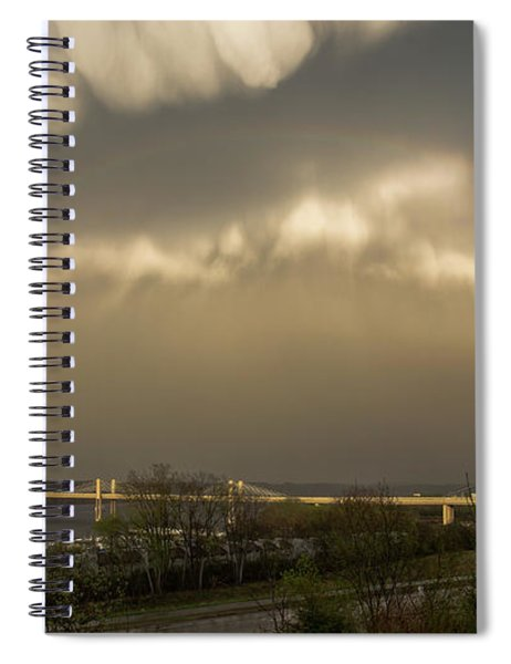 Calm After The Storm Spiral Notebook