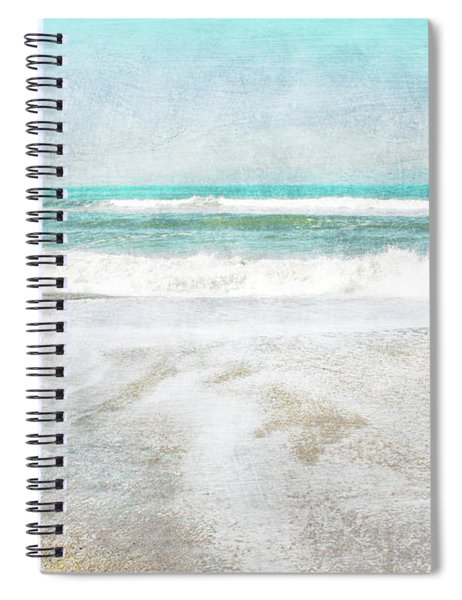 Calm Coast- Art By Linda Woods Spiral Notebook