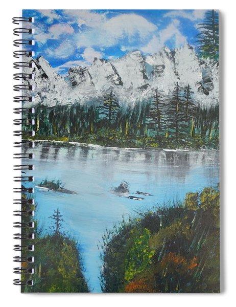 Calm Lake Spiral Notebook