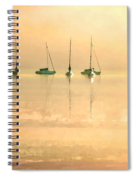 Calm Waters Spiral Notebook