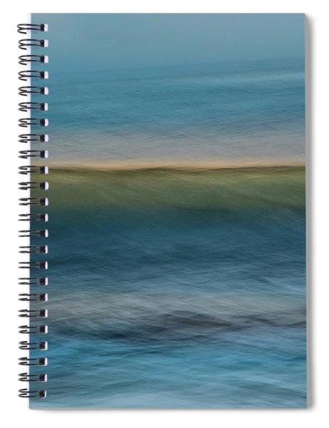 Calming Blue Spiral Notebook