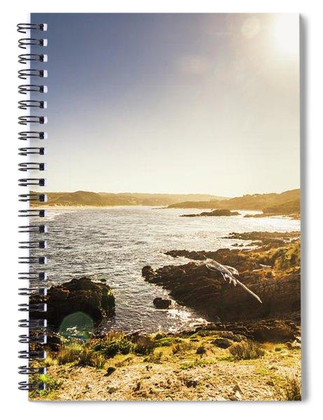 Calming Coastal Waters Spiral Notebook