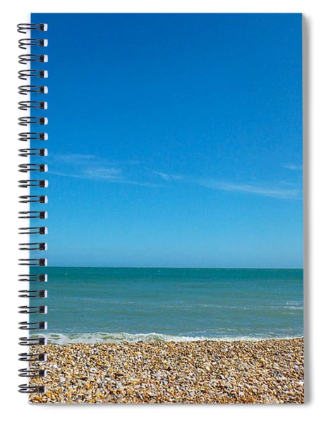 Calming Seaside View Spiral Notebook