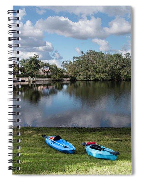 Caloosahatchee Kayaking Spiral Notebook