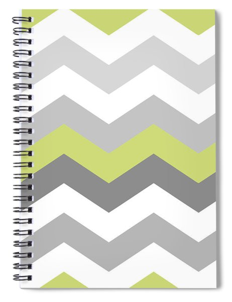Calyx Chevron Pattern Spiral Notebook