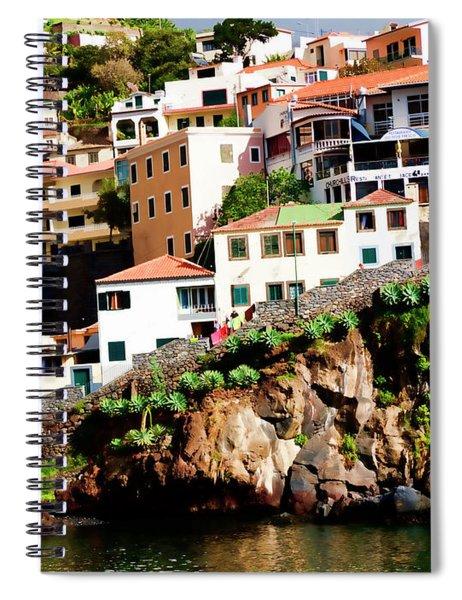 Camara De Lobos On The Island Of Madeira Spiral Notebook