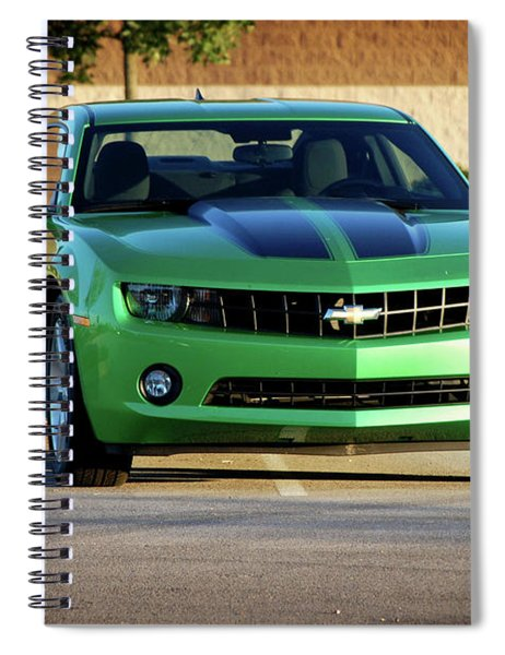 Camaro Origional Spiral Notebook