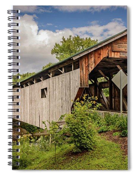Cambridge Junction Bridge Spiral Notebook