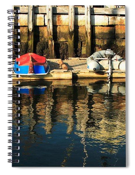Camden Boats Spiral Notebook
