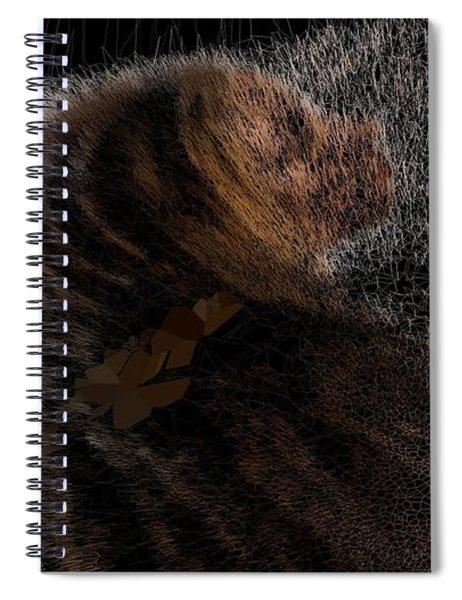 Camel Snow Priest Spiral Notebook