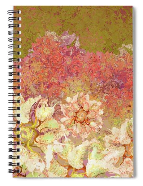 Camellia Hedges Spiral Notebook