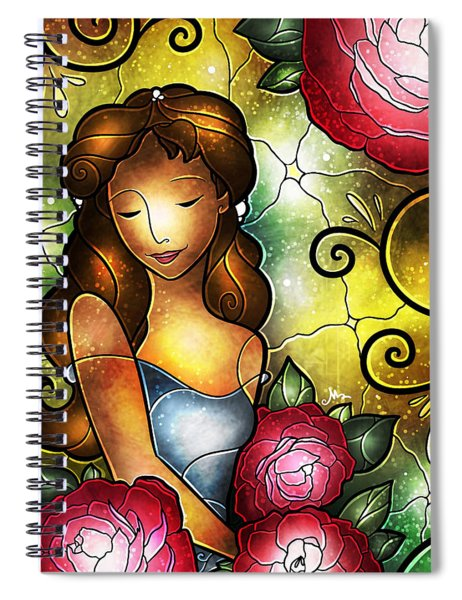 Lady Camellia Spiral Notebook