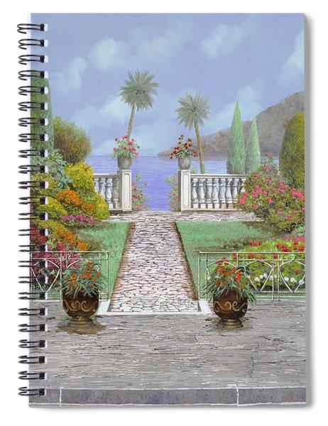 Camminando Verso Il Lago Spiral Notebook