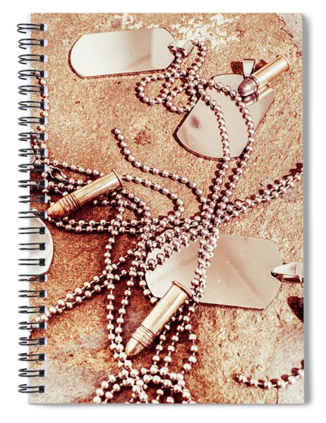 Campaign Of Liberty  Spiral Notebook
