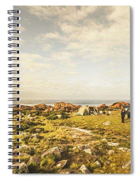 Camping, Driving, Trekking Spiral Notebook