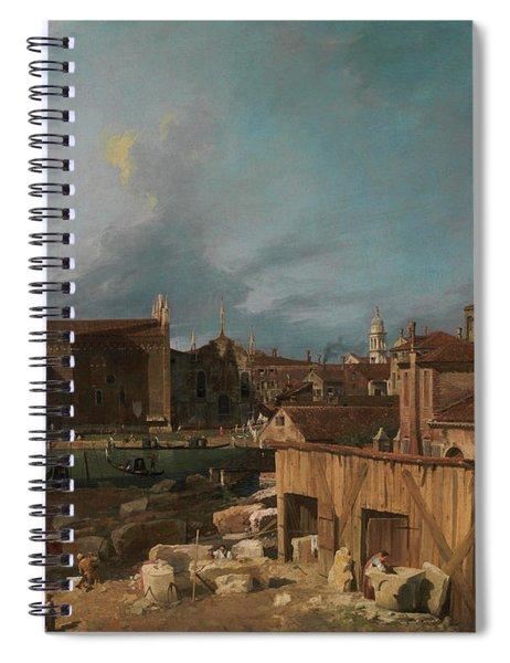 Campo S. Vidal And Santa Maria Della Carita Spiral Notebook